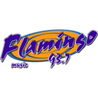 Logo of radio station XHDIS Flamingo Stereo 93.7 FM