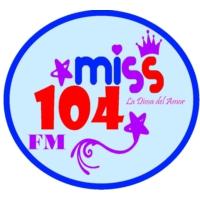 Logo de la radio Miss 104 FM