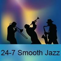 Logo of radio station 24-7 Smooth Jazz