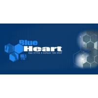 Logo of radio station Blue Heart 105.1