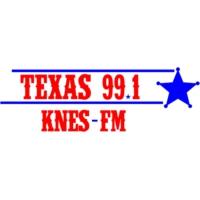 Logo de la radio KNES Texas 99.1 FM