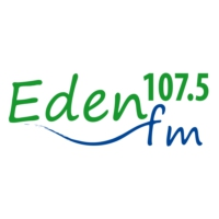 Logo de la radio Eden FM 107.5
