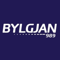 Logo of radio station Bylgjan 989
