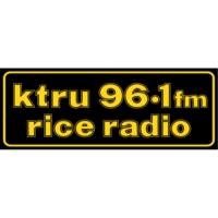 Logo de la radio KTRU Rice Radio- 96.1 FM