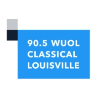 Logo of radio station 90.5 WUOL Classical Louisville