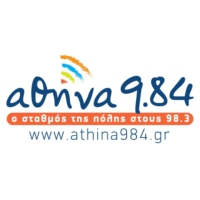 Logo of radio station ΑΘΗΝΑ 9.84