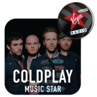 Logo de la radio Virgin Radio Music Star Coldplay