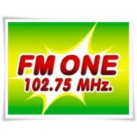 Logo of radio station FM ONE