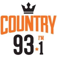 Logo of radio station CHPO-FM Country 93.1 FM