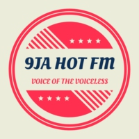 Logo of radio station 9ja hot fm