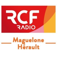 Logo of radio station RCF Maguelone Hérault