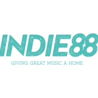 Logo of radio station CIND-FM Indie88