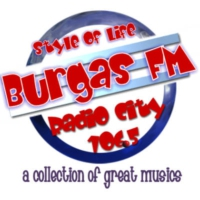 Logo of radio station Burgas FM-Style of Life