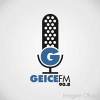 Logo of radio station Rádio Geice FM