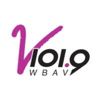 Logo of radio station V 101.9 FM WBAV