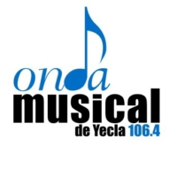 Logo of radio station Onda Músical de Yecla 106.4 FM