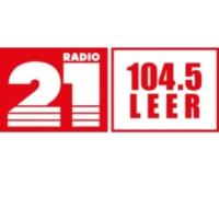 Logo of radio station RADIO 21 - Leer