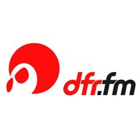 Logo of radio station DFR Radio