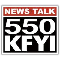 Logo de la radio News Talk 550 KFYI