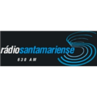 Logo of radio station Rádio Santamariense
