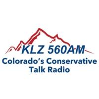 Logo of radio station KLZ 560 AM