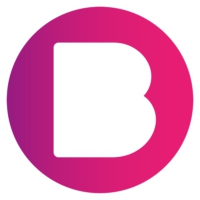 Logo of radio station B Radio 95.6FM