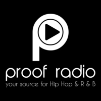 Logo of radio station Proof Radio
