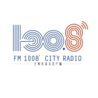 Logo of radio station City Radio兰州生活文艺广播 - Lanzhou live art, City Radio broadcasting