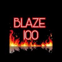 Logo of radio station BLAZE 100