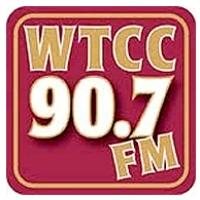 Logo of radio station WTCC 90.7