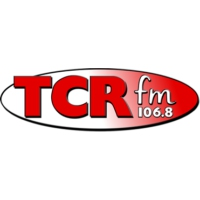 Logo of radio station 106.8 TCR