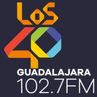 Logo of radio station LOS40 102.7 FM