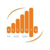 Logo of radio station Accent 4