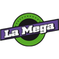 Logo of radio station La Mega Bagota