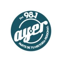 Logo de la radio Ayer FM 98.1