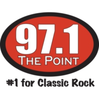 Logo of radio station KXPT 97.1 The Poin