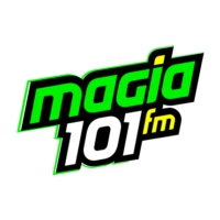 Logo of radio station XHUNO Magia 101 FM