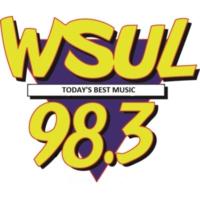 Logo of radio station 98.3 WSUL