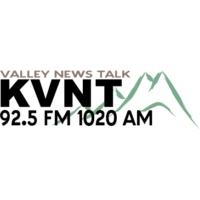 Logo de la radio KVNT Valley News Talk