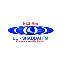 Logo of radio station El Shaddai FM 91.30