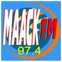 Logo of radio station MAACK-FM 97.4