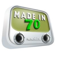 Logo de la radio Made in 70