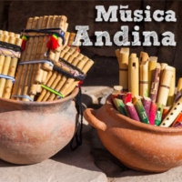 Logo of radio station Miled Music Andina
