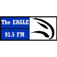 Logo of radio station CJEL-FM The Eagle 93.5