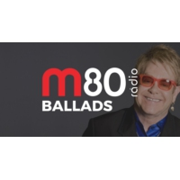 Logo of radio station M80 Rádio - Ballads