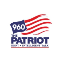 Logo de la radio KKNT 960 The Patriot