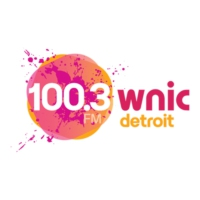 Logo of radio station 100.3 WNIC