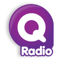 Logo of radio station Q Radio Mid Ulster