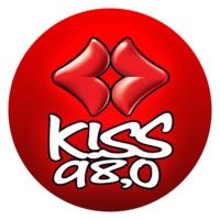 Logo of radio station Kiss FM Βόλου 98.0