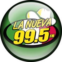 Logo of radio station La Nueva 99.5